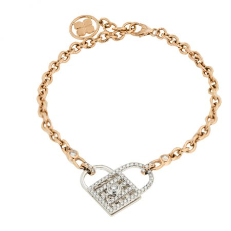 Unlock My Heart | Rose Gold Bracelet | For Women
