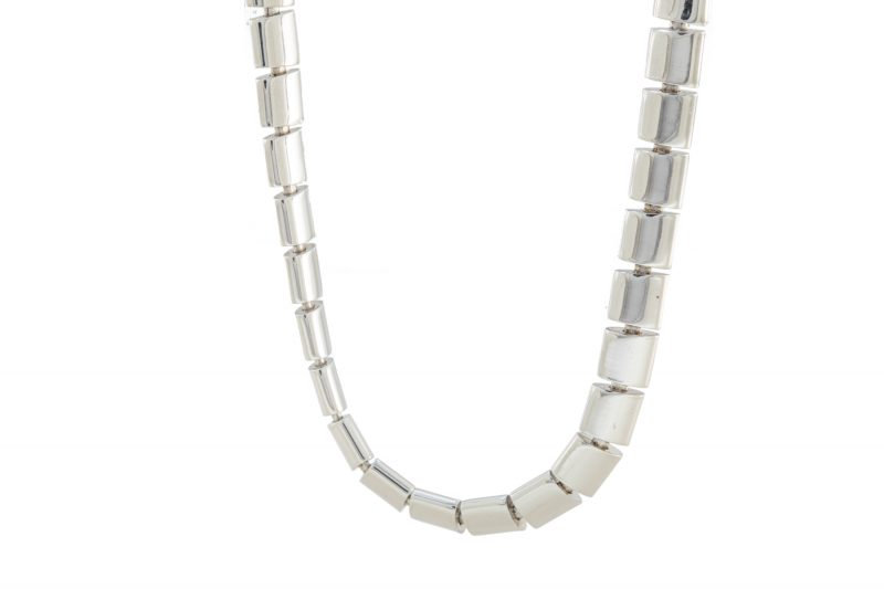 Gold | White gold chain necklace | Unisex